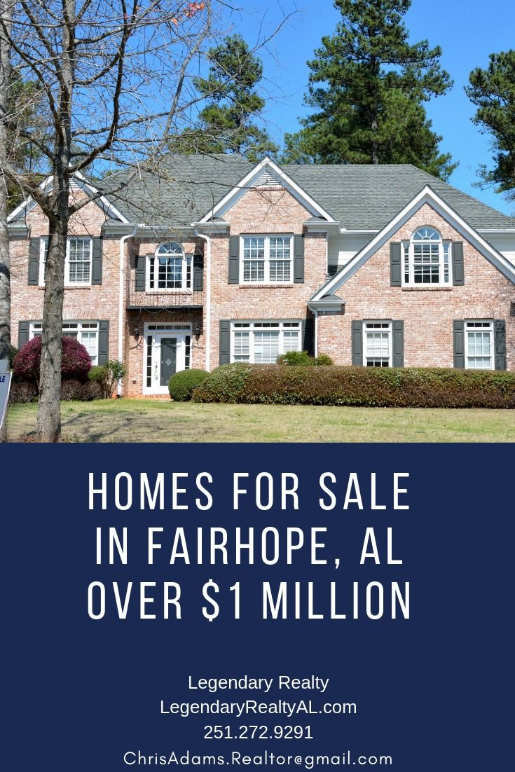 Houses For Sale In Fairhope Alabama Over 1 Million Contact Chris