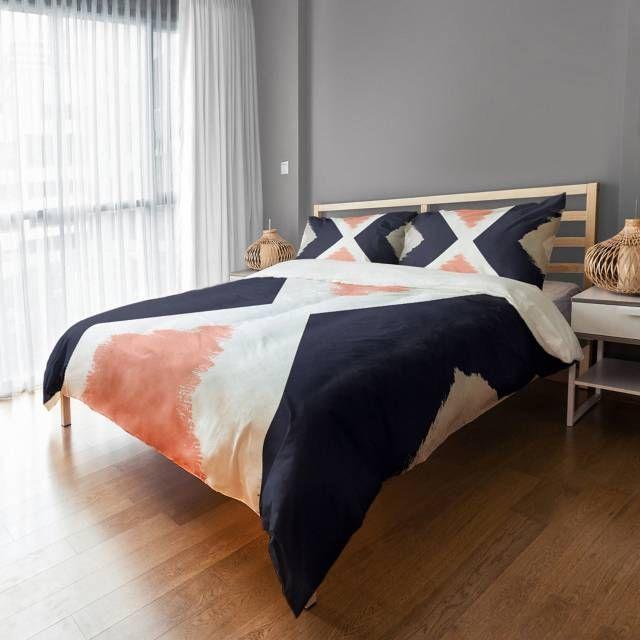 Chevron Cross Duvet Cover - Bed Bath & Beyond
