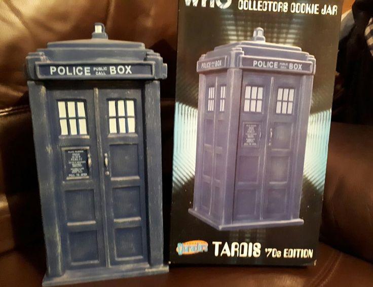 135 best doctor who tardis images on pinterest doctor who tardis doctors and dr who - Tardis ceramic cookie jar ...
