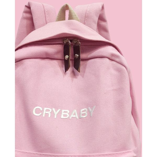 BLACK FRIDAY SALE-PINK-Tumblr-Aesthetic backpack ($40) ❤ liked on Polyvore featuring bags, backpacks, embroidered bags, rucksack bags, embroidered backpacks, daypack bag and knapsack bag