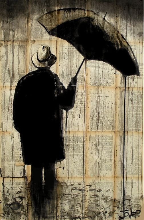 As he stood in the rain, he wondered, had she, 40 and 2 years ago, loved him as he'd loved her? Or was it pseudo chemical reaction, lust instead of love? No matter, he didn't want to know, he'd hold the memory of her as it was in his ever fleeting mind.