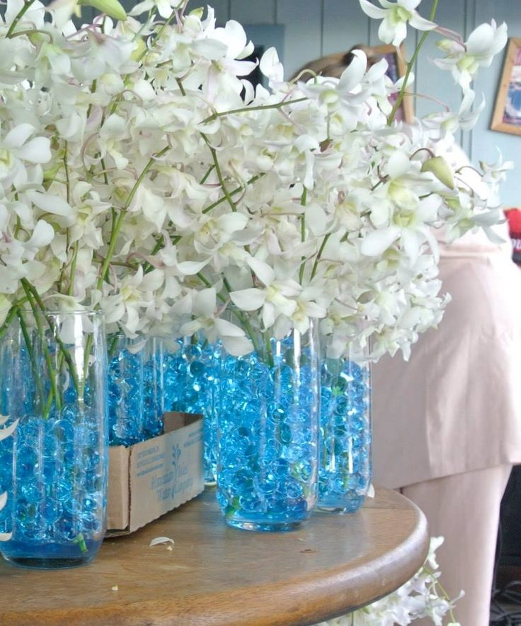 Water Wedding Centerpiece Ideas: 309 Best Crystal Soil (Water Beads)Decoration Images On