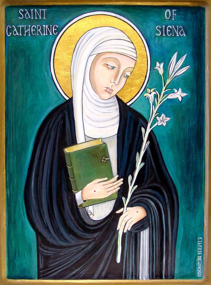 St. Catherine of Siena  | Dominican saints | Dominican Black Abbey Kilkenny
