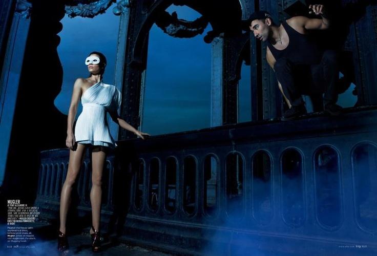 Fot. Thomas Whiteside, Jessica Biel for ElleUS #Elle