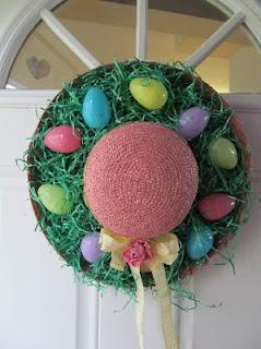 Another Easter Hat for my door