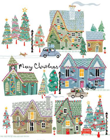 louise cunningham's blog: Papyrus Christmas Card
