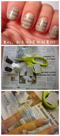 News paper style