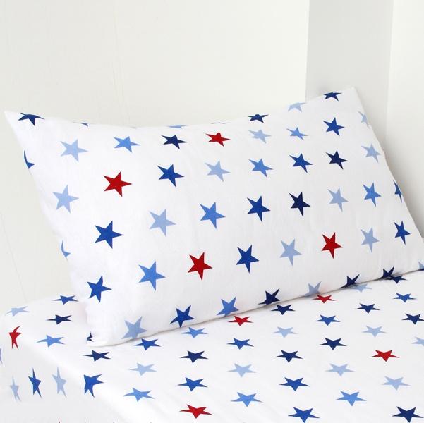 Kids Stars Flannelette Sheet Set | Dunelm Mill