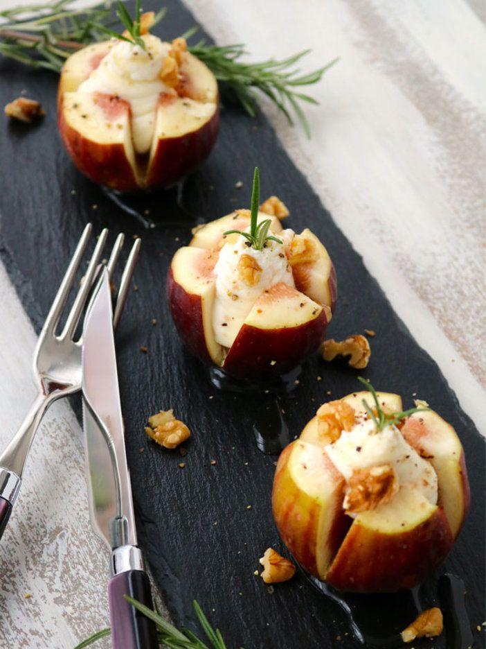 火を使わないいちじくの即席アペロメニュー。小ぶりないちじくを使えば、ピンチョスみたいなアレンジも可能。|『ELLE gourmet(エル・グルメ)』はおしゃれで簡単なレシピが満載!