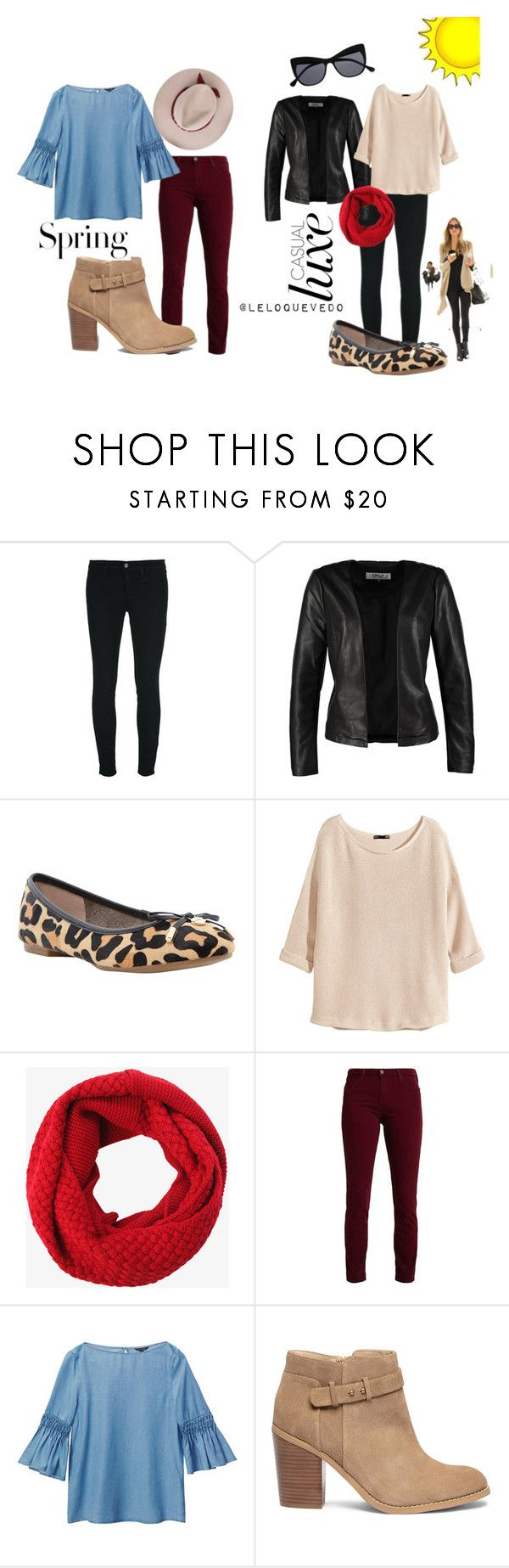 """""""Fiestas patrias Chile ideas"""" by leloquevedo on Polyvore featuring J Brand, ONLY, Dune, Kerr®, H&M, Torrid, Massimo Dutti and Sole Society"""