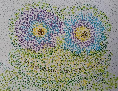 Pointillism for Kids - LilCreativeKids