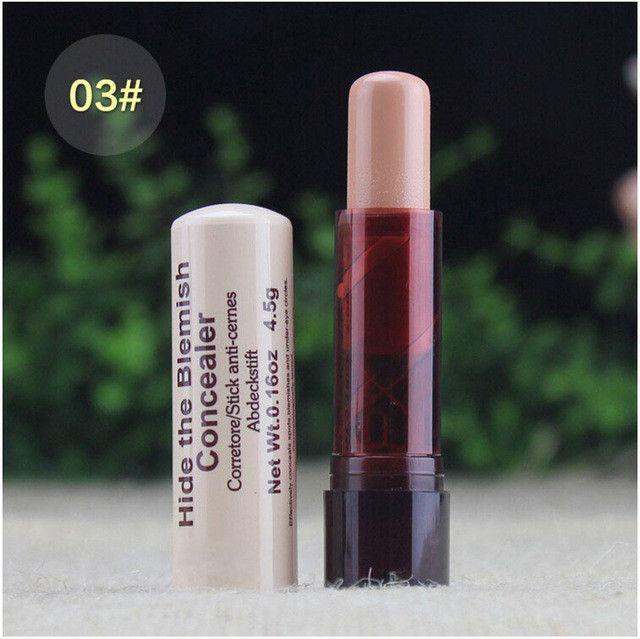 AddFavor 1PC Concealer Stick Dark Circle Removing Facial Makeup Acne/Spot Wrinkle Cover Concealer Hide Blemish Concealer Cream