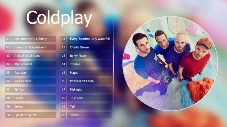 Coldplay Greatest Hits || Best Songs Coldplay 2016