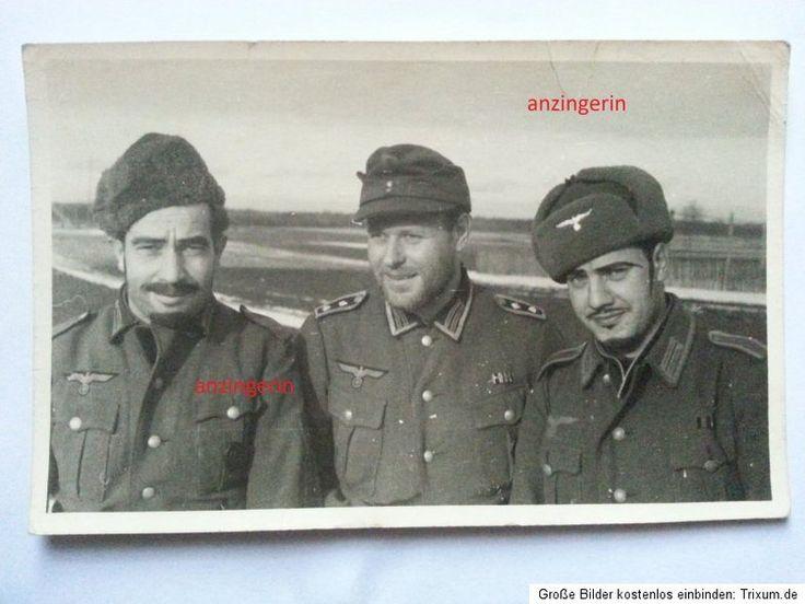 Spanische-Legion-Barte-Winter-Rusland-Sudlander-Foto-Blaue-Division