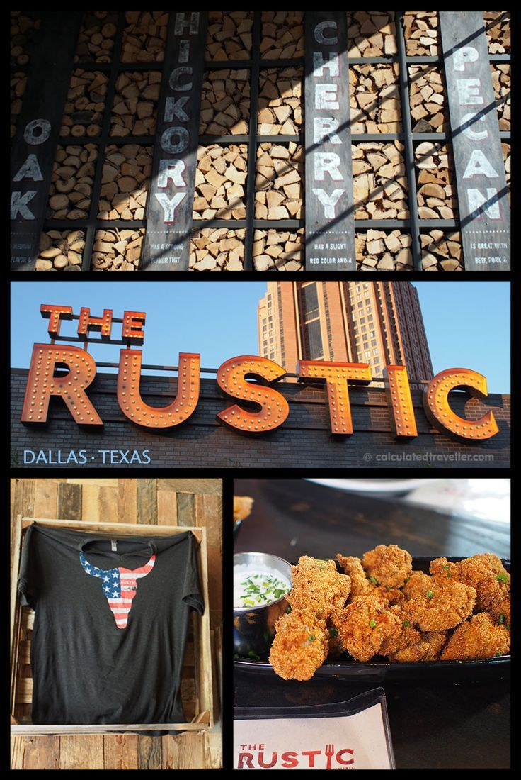 Eating #DallasBig at The Rustic in Dallas Texas by Calculated Traveller