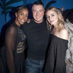 dolcegabbana Stefano with @kellyrowland and @oliviapalermo having fun at #DGlovesparty #dolcegabbana