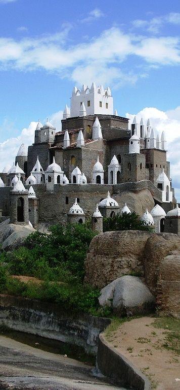 Castillo Zé dos Montes, Nuevo sitio - Sierra del Tapuia - Rio Grande do Norte / Brasil.