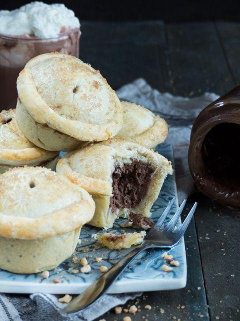 mini Nutella Pies - Meine Küchenschlacht