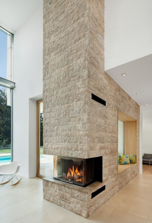 Fireplace Facade Inspiration Villa del Mar Bar Pinterest