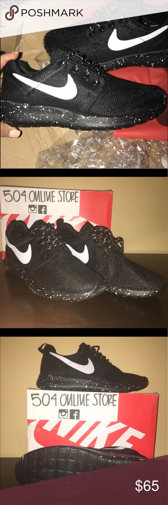 UA Nike Roshe 504 ONLINE STORE 🌎 www.504onlinestore.com  •All of our shoes run true on the size •UA Quality •All sizes available for women/men • Free Shipping in US (12-15 days)  💸 Get $10 when you subscribe to the website's newsletter and purchase with promo code: 504Discount$10 Nike Shoes Athletic Shoes