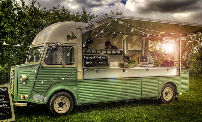 New for 2013 - Our Classic Citroen HY pizza Van! #rockmyspringwedding @Derek Smith My Wedding
