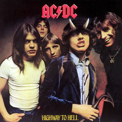 AC/DC - 'Highway To Hell' is probably my favorite album of theirs, although I love all their stuff. Bon Scott was da BOMB! <3