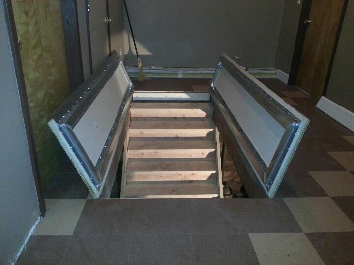 Crawl Space Ideas Secret Rooms Trap Door
