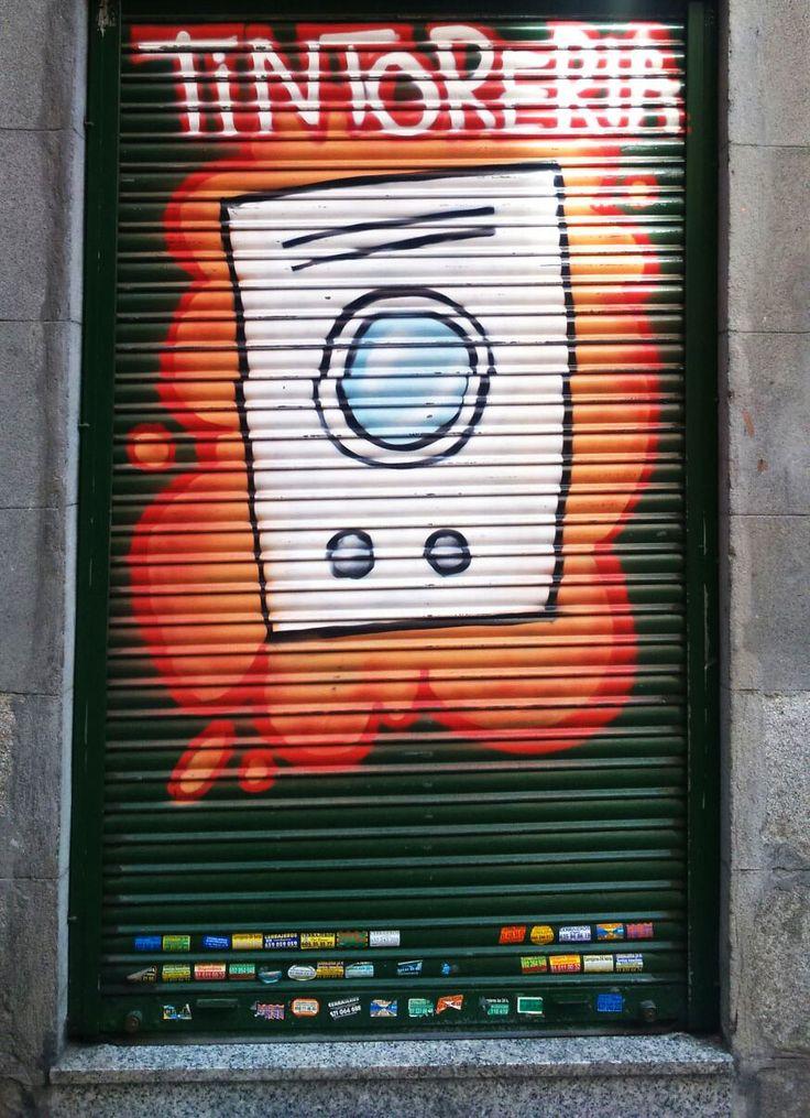 Calle del Nuncio. Barrio de Sol. Madrid 2015.