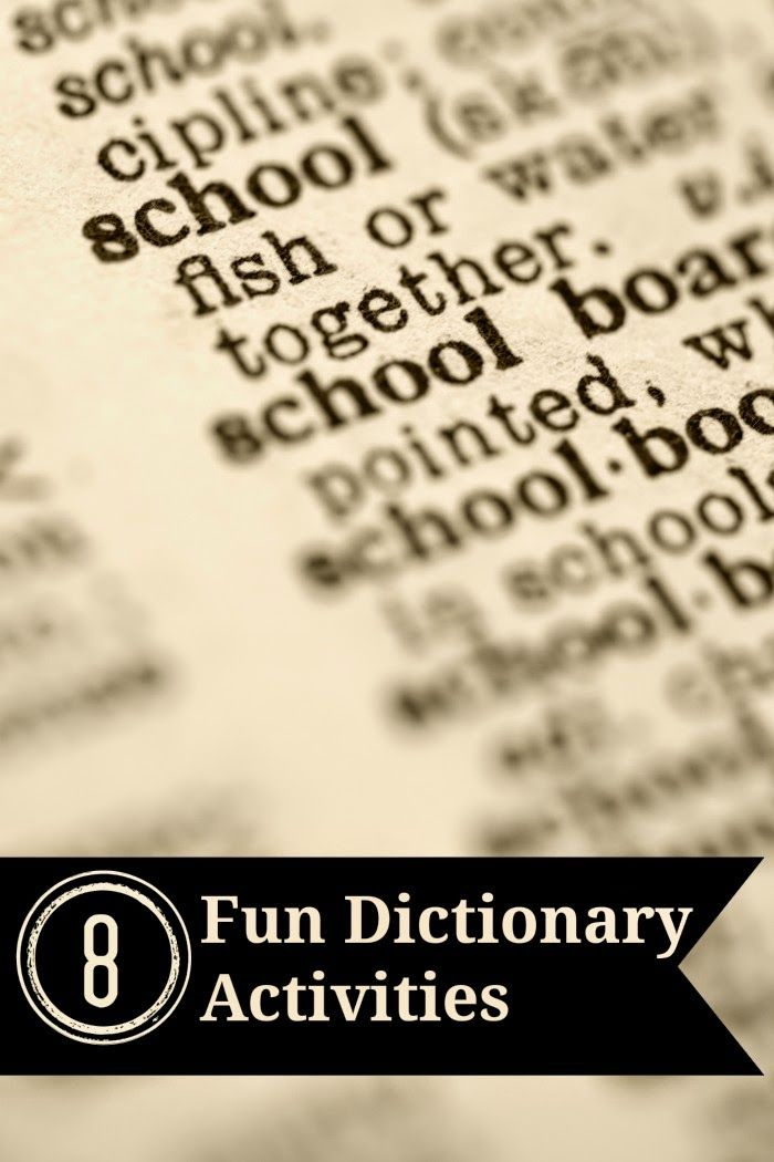 Hopefully, you've got dictionaries, maybe even a class set. They are, of course, great for looking up words and you will use them to teach dictionary skills, but there are also other gre…