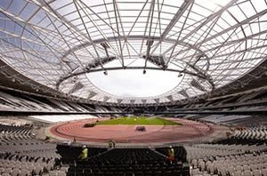 The Olympic Stadium in Stratford is gradually being converted into a ground that can host football as it becomes West Ham's home for the 2016/17 season.