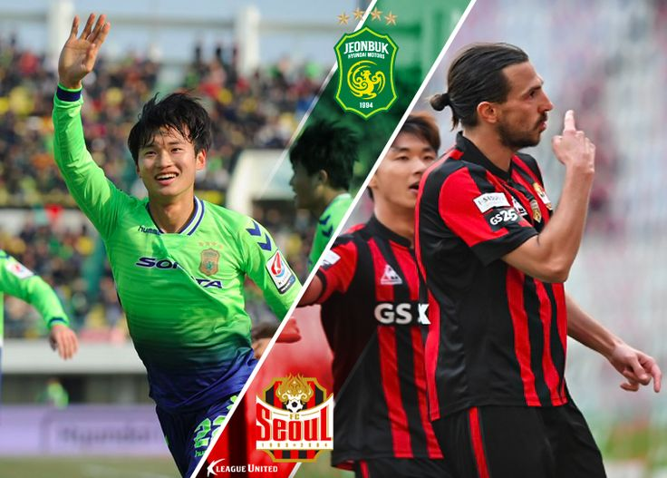 The AFC Champions League winners Jeonbuk Hyundai Motors take on the K League Classic Champions FC Seoul this Sunday in what is sure to be a hotly anticipated clash #Jeonbuk #KLeague #Korea #Football