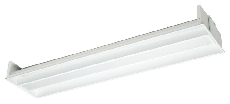 R1 - 2x28W T5 Linear Fluorescent Recessed Troffer,  Eagle Lighting Enviro-Diffused