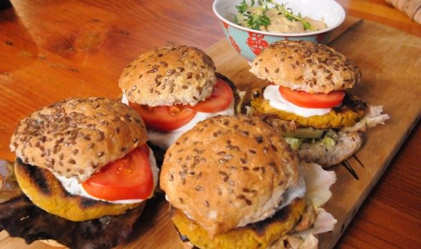 Falafel Burgers : Food : The Home Channel