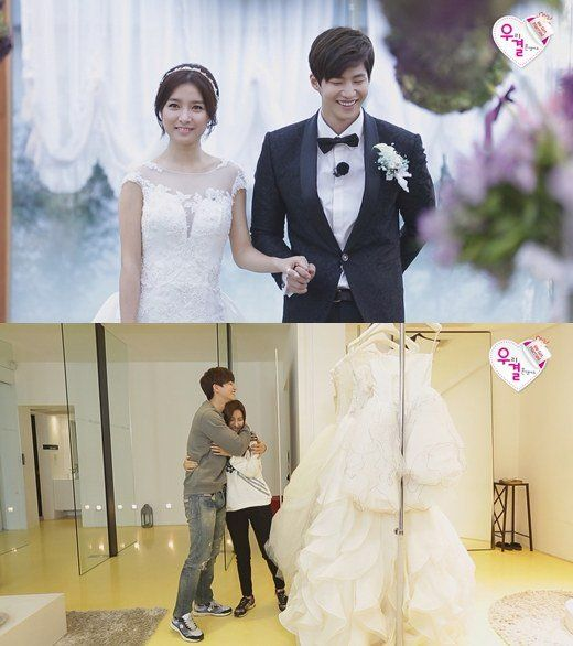 "One of the most awaited parts during a wedding is when the groom is asked to kiss the bride. Of course, that important part is not to be missed out at the wedding ceremony of the LTE couple of Song Jae Rim and Kim So Eun! On the November 29 broadcast of the MBC variety show ""We Got Married,..."