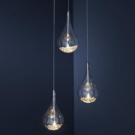 Buy John Lewis Sebastian 3 Light Drop Ceiling Light Online at johnlewis.com