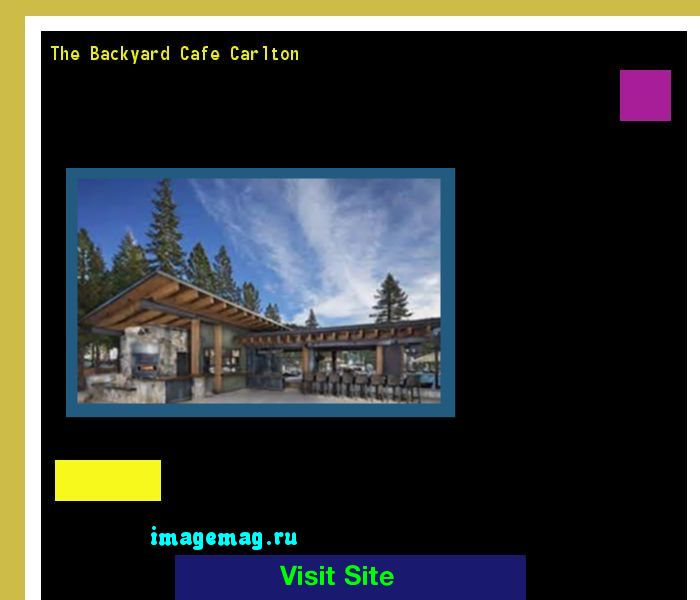 The Backyard Cafe Carlton 220348 - The Best Image Search
