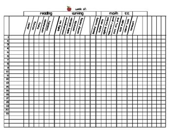 First Grade Grading Sheet Master/TemplateGrade Sheet, Teaching, Improvements Grade, Teachers Stuff, Classroom Printables, Grammar Ideas, Classroom Ideas, Sheet Master Temples, Classroom Organic