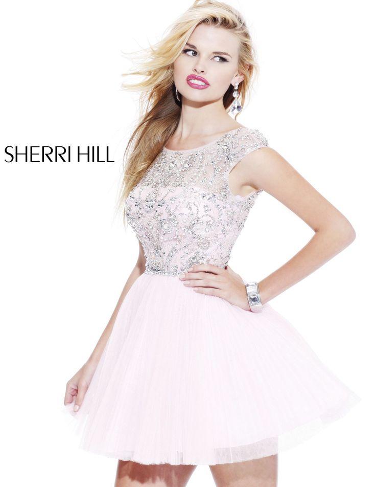 2013 Sherri Hill 2814 Light Pink Homecoming Dresses