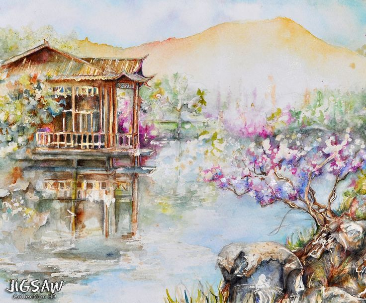 Please your inner artist and travel to the world of tender colors and peaceful sceneries with our jigsaw puzzle app.