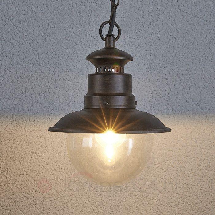 Buiten-hanglamp Eddie in landelijke stijl 9630002