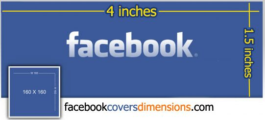 facebook cover size in inches   What the Facebook Cover Dimensions in inches ?