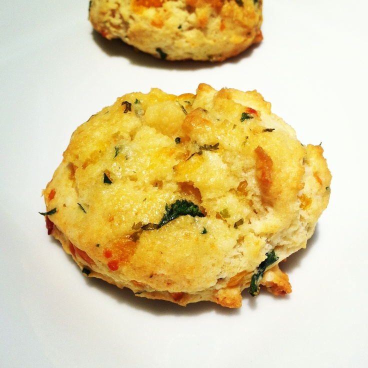 A biscuit from Ruby Tuesday.