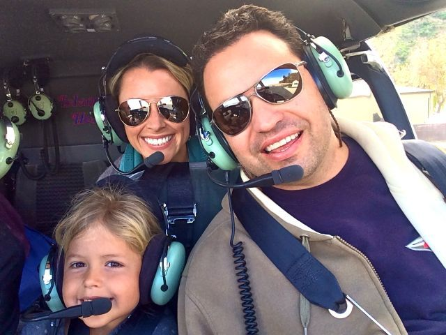 Riding the Island Express helicopter | 30 Hours in Avalon, Catalina | Real Posh Mom