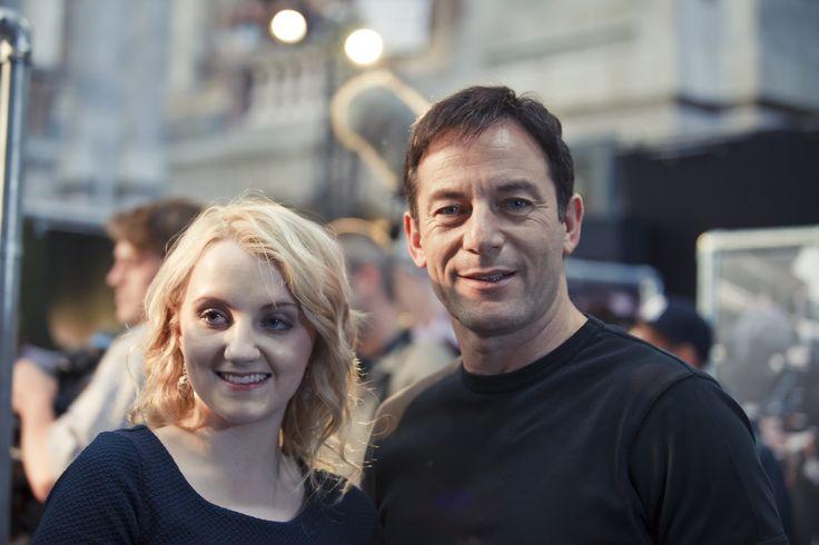 Jason Isaacs and Eva Lynch