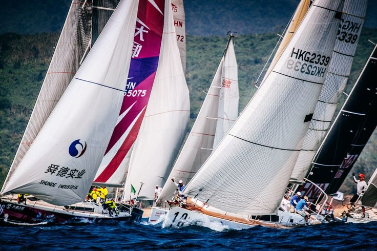 The 2017 8th Round Hainan Regatta will be held from Mar. 17th-25th in the seas around Hainan Island!
