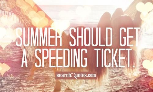 summer always goes by too fast!
