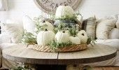 Beautiful Fall Home Decorating Scheme