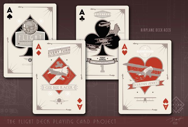 The Flight Deck: The Dawn of Aviation Playing Cards by Paul Roman Martinez — Kickstarter