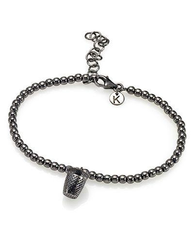 Bracciale in argento 925 Keep Out
