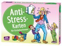 Anti-Stress-Karten für ErzieherInnen: Inspirationskarten Zeitdruck, Lärm, Konkurrenz, sich widersprechende Erwartungen? Wenn wir dem nichts entgegensetzen, macht uns der Stress krank an Körper, Geist und Seele. Deshalb müssen wir unserem eigenen Wohlbefinden die nötige Aufmerksamkeit schenken. Daran erinnern uns die Anti-Stress-Karten liebevoll und Tag für Tag   Don Bosco Medien